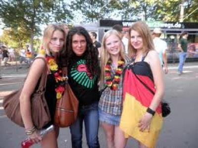 Turistas alemanas, de visita en España